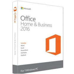 Microsoft Office Home & Business 2016 voor 1 pc