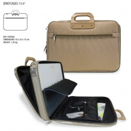 "Bombata CLASSIC Business nylon LAPTOPTAS (15,6"" max) groen"